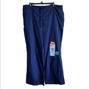 SB Scrubs Low Rise Flare Leg Utility Pants NWT XL